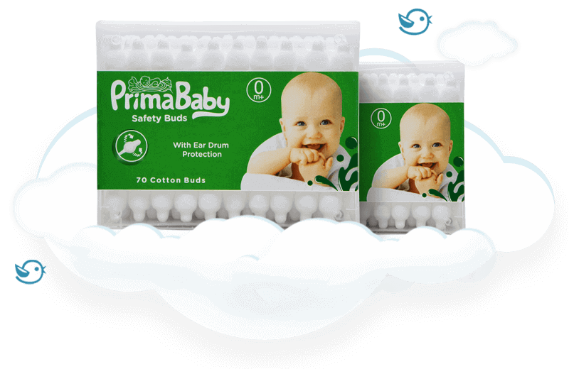 Primababy - Baby Safety Cotton Ear Buds